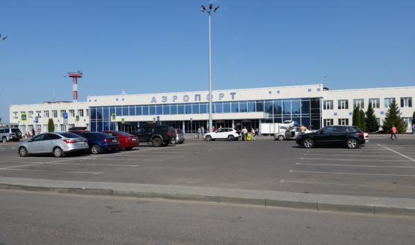 Международный аэропорт Воронежа имени Петра Первого.