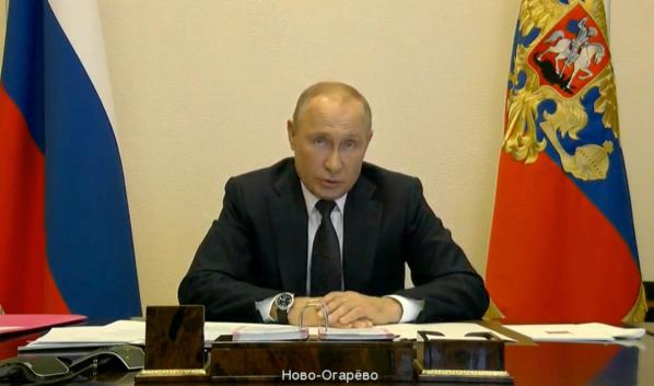 Владимир Путин вновь обратится к россиянам.