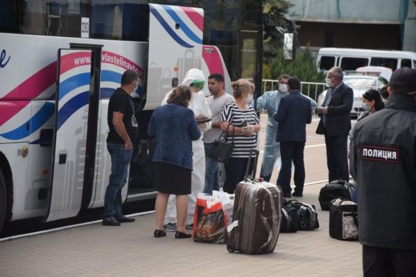У пассажиров рейса не обнаружили признаков ОРВИ.