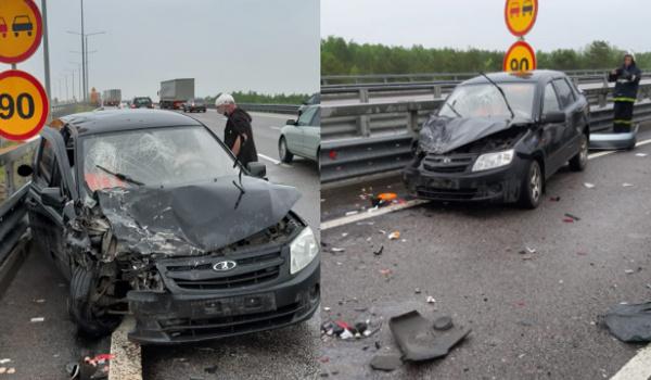 ДТП на трассе в Воронеже 14 мая.