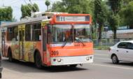 Троллейбус №11 в Воронеже.