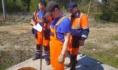 Сотрудники водоканала отремонтировали задвижку в колодце.