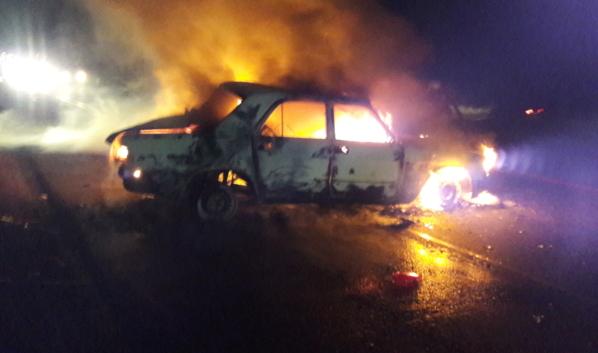 Пожар случился в Кантемировском районе.