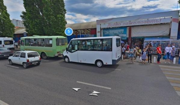 Юго-Западный рынок в Воронеже до пандемии.