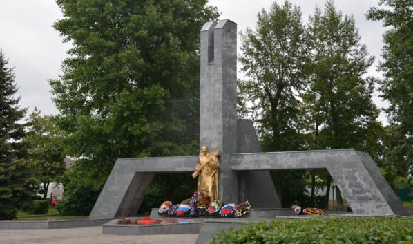 «Братская могила №10» в Воронеже.