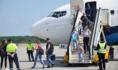 Самолет прилетел из Норильска и отправился в Сочи.