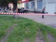 Кадры с места аварии.