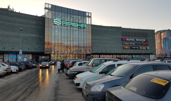 ЧОП незаконно охранял ТРК «Арена».