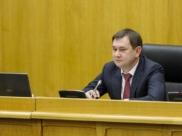 Владимир Нетёсов на заседании парламента.