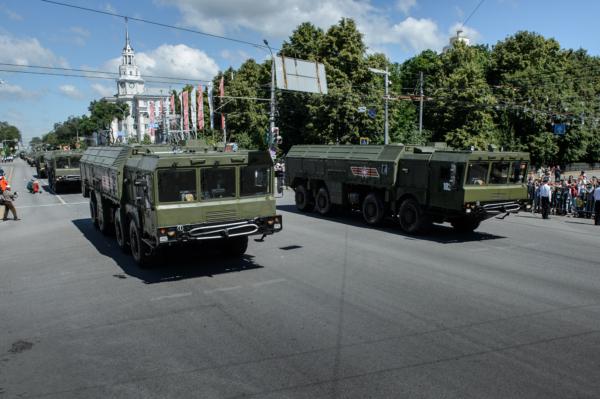 Парад в Воронеже 24 июня 2020 года.