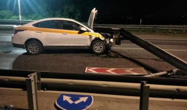 Hyundai Solaris после ДТП.