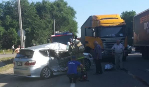 Авария случилась на трассе М-4.