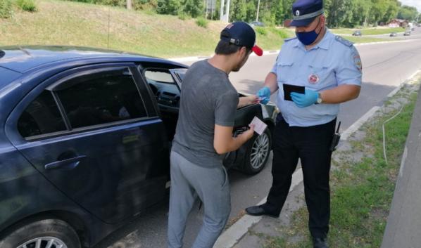 Госавтоинспекторы задержали неплательщика штрафов.