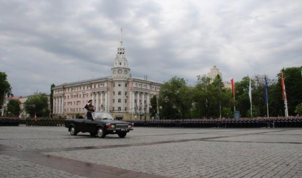 Парад Победы пройдет 24 июня в Воронеже.