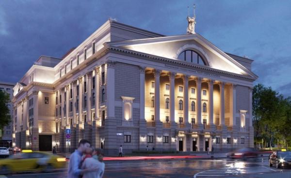 Первый вариант театра оперы и балета.