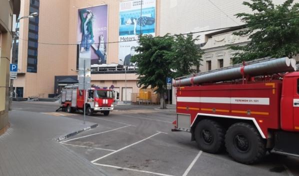 На место ЧП направили 22 пожарных отделения.