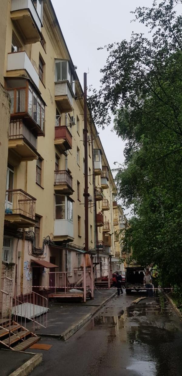 Демонтаж балкона.