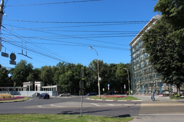 Реконструкция парка «Орленок».