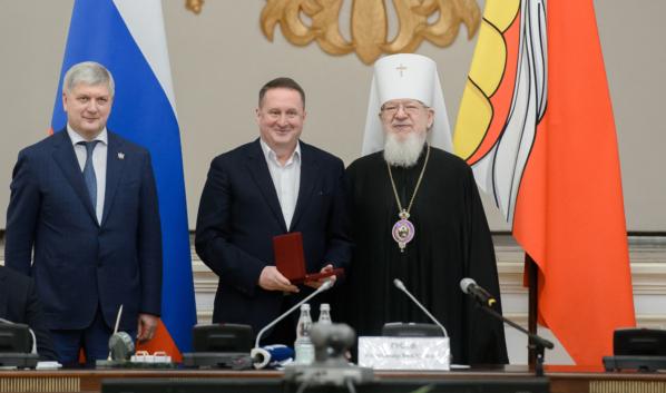 Воронежцам вручили награды.