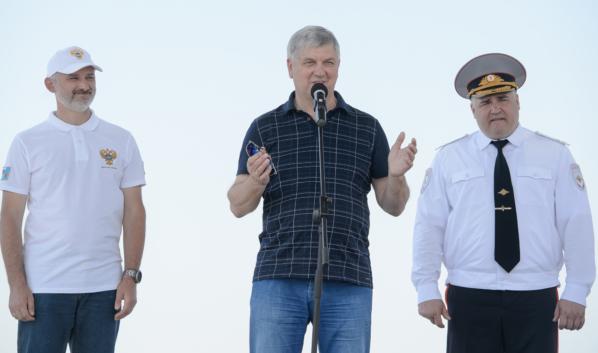 Открыли новый скоростной участок на трассе «Дон» в Воронежской области.