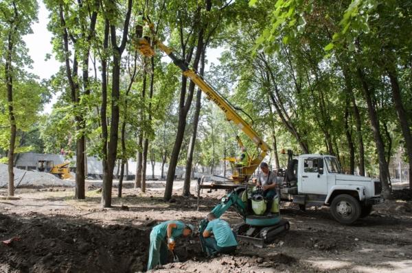 Реконструкция парка «Орлёнок» в Воронеже.