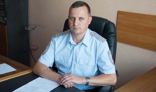 Полковник полиции Анатолий Редько.