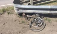 Велосипед после ДТП.