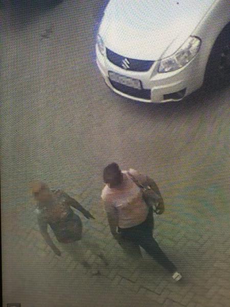 Подозреваемую вычислили по записям камер.