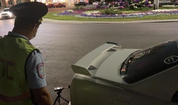Стражи порядка ловили нарушителей.