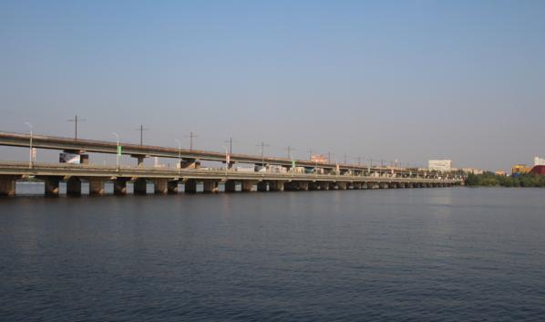 Северный мост в Воронеже.