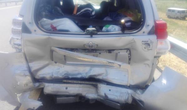 Toyota LC Prado.