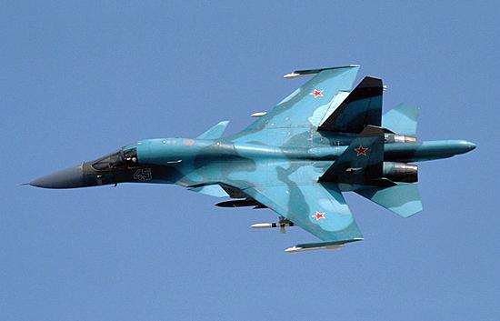 Су-34.