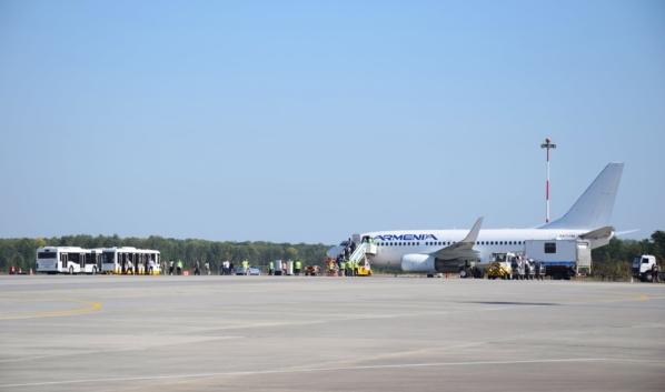 Рейс привез 99 человек в Воронеж.
