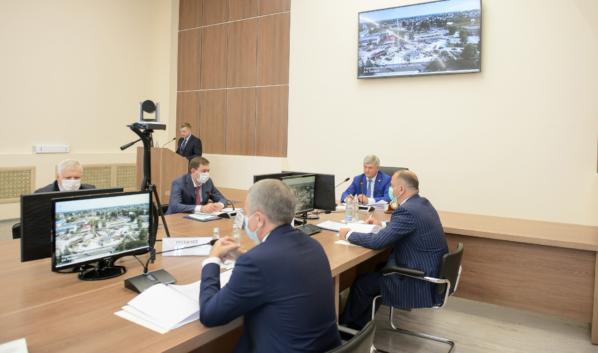 Выездное совещание провел Александр Гусев.