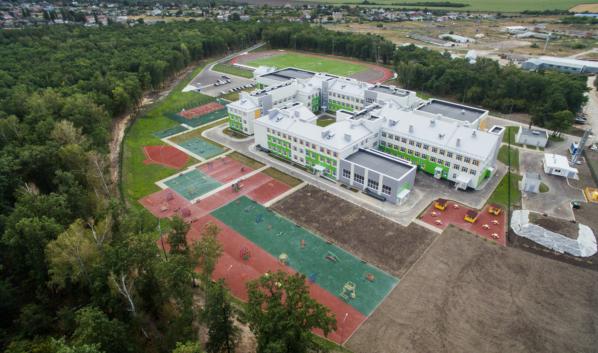 Новая общеобразовательная школа в Ямном.