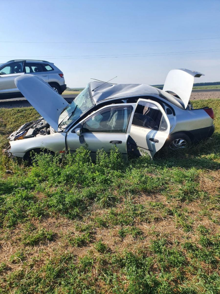 Авария случилась в Хохольском районе.
