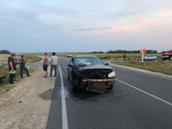 Авария случилась в Семилукском районе.