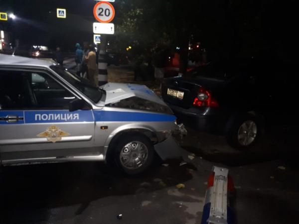 Авария с 4 авто в Россоши.