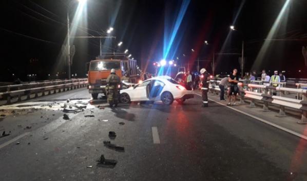 ДТП на Чернавском мосту.