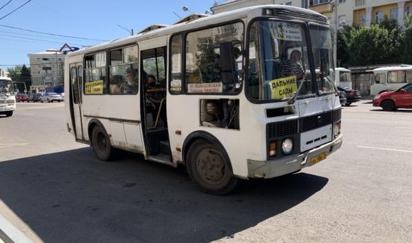 Один из автобусов, который изменит путь следования.