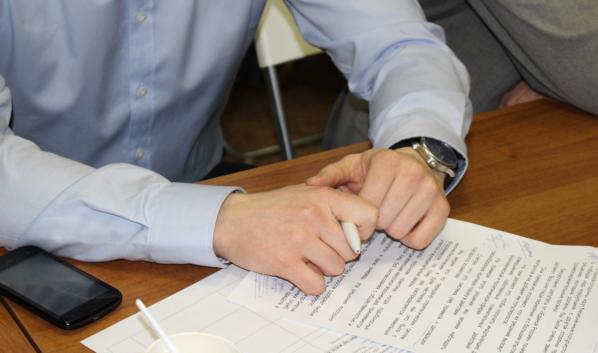 Две партии не подписали соглашение.