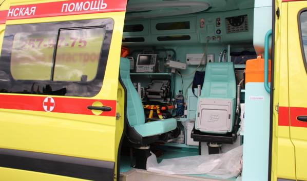 Пострадавшего малыша доставили в больницу.