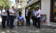 Выездное совещание провел мэр Вадим Кстенин.
