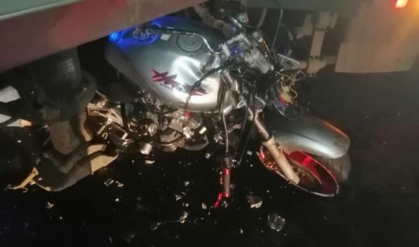 Водитель и пассажир мотоцикла погибли.