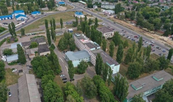 Новоусманская районная больница.