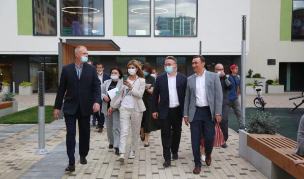 Делегация из Липецка посетила Воронеж.