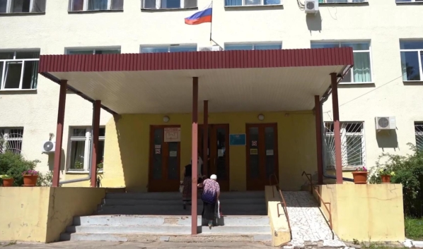 Воронежская городская клиническая больница №11 в Сомово.