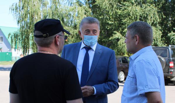 Сенатор Сергей Лукин в Аннинском районе.