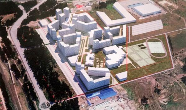 Новая школа появится в микрорайоне на улице Остужева.