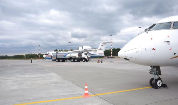 Бе-200 МЧС России.